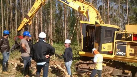 Curso Operador de Máquinas Florestais